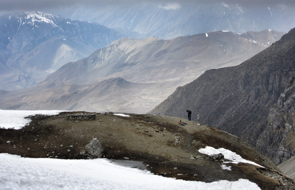 Dropping down to Muktinath.