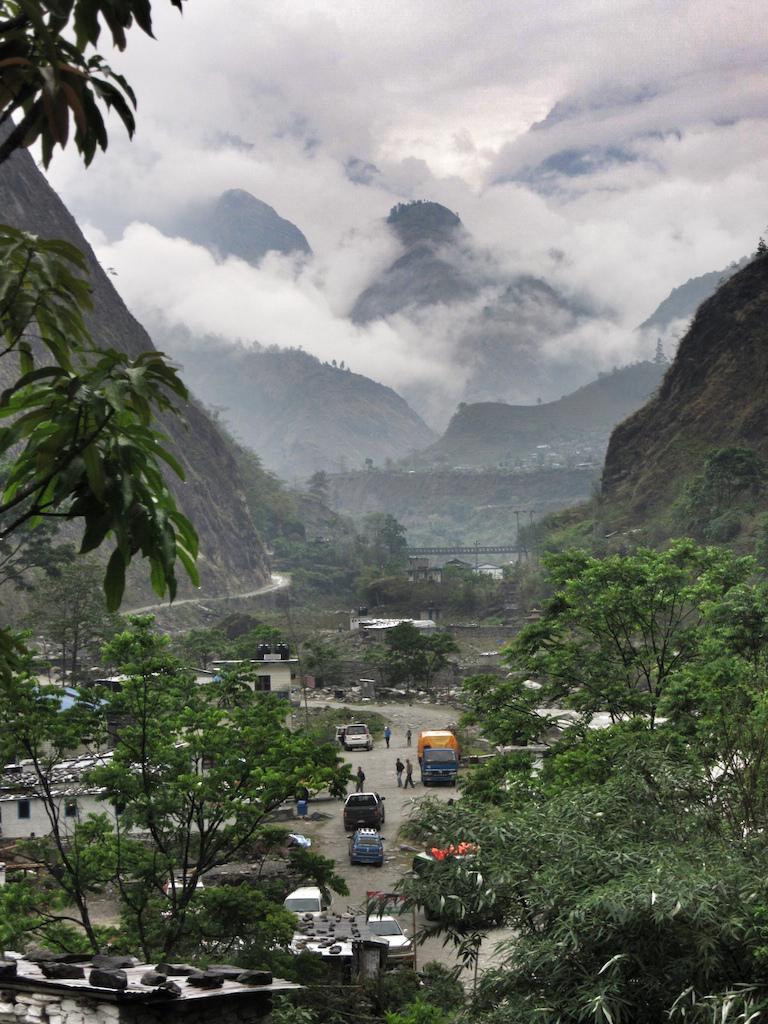 The village of Tatopani