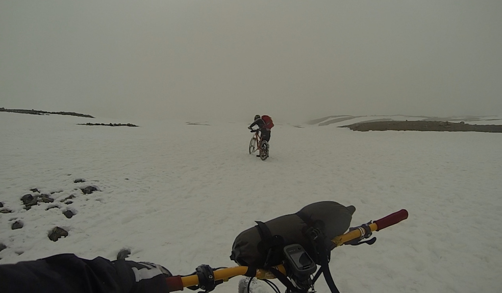Coming down from 5600m.