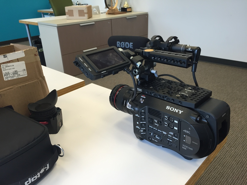 2015 Sony FS7 4k Video Camera Package