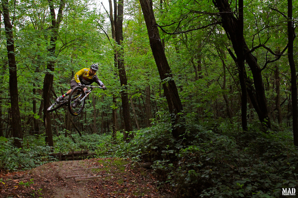 Finding new trails with our friends from Como Bike Experience (www.comobikeexperience.com)