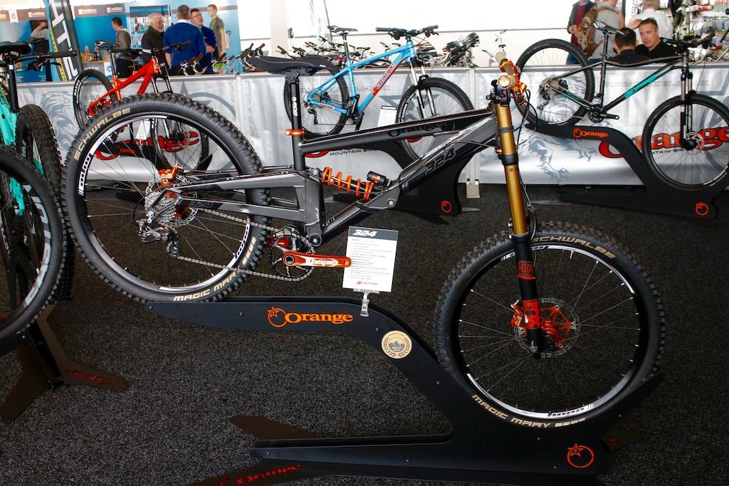 Orange Bikes - The Bike Place Show