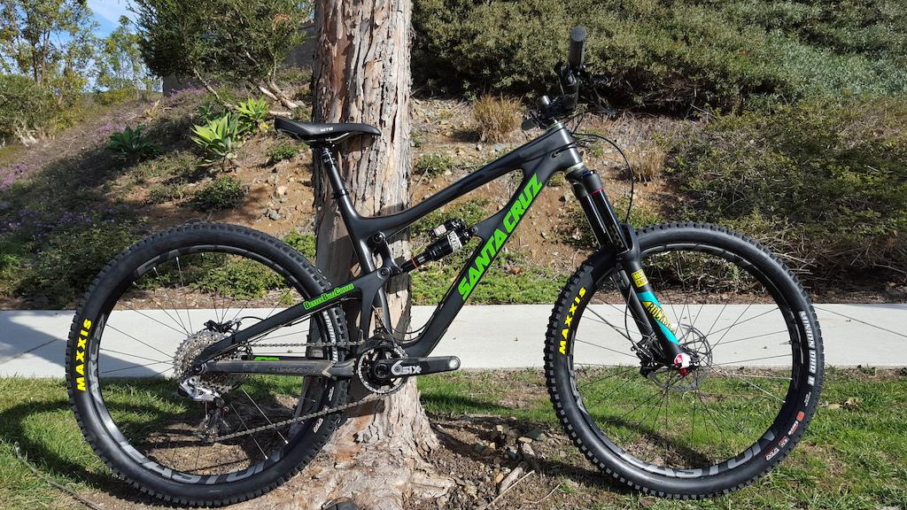 2015 Santa Cruz Nomad CC XX1 Build