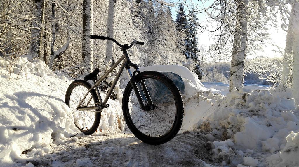 Winter Dirt Jumping
