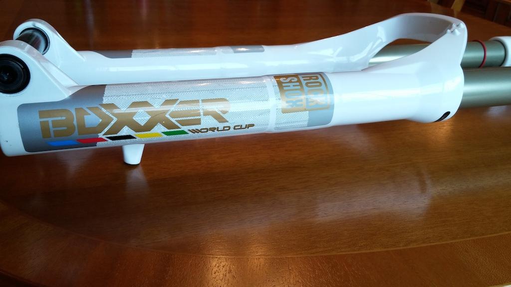 2012 Rockshox Boxxer World Cup Suspension Forks