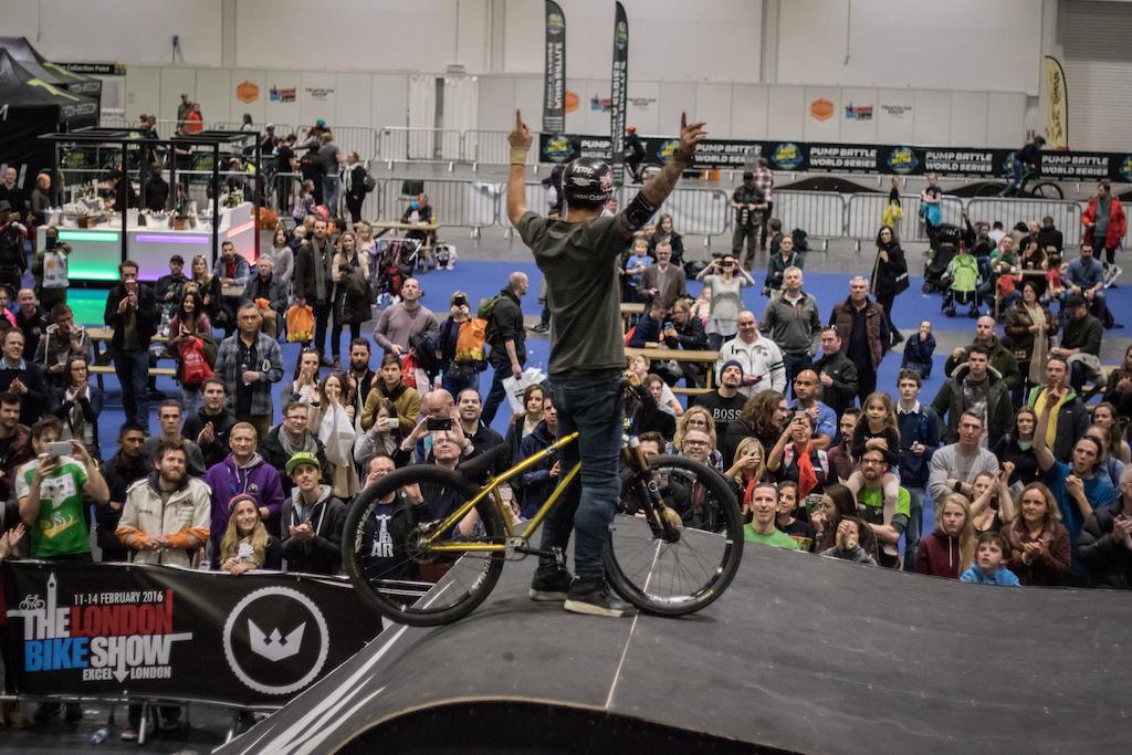 Air to the Throne - London Bike Show 2016