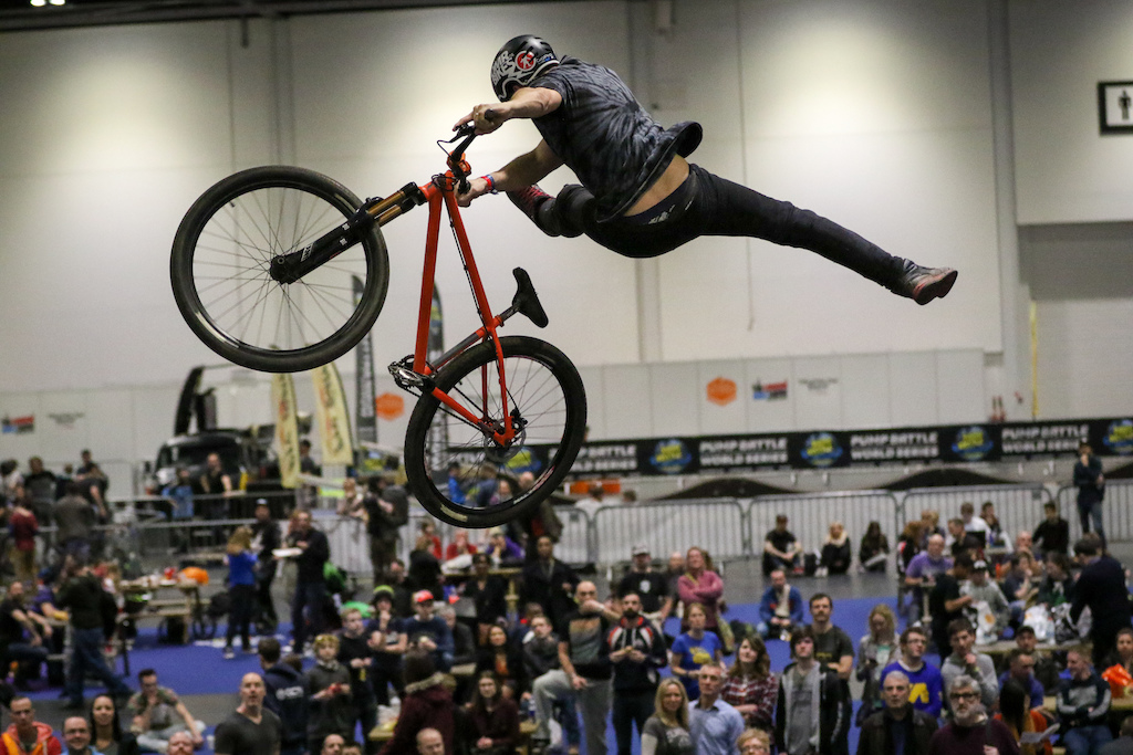 Air to the Throne - London Bike Show 2016