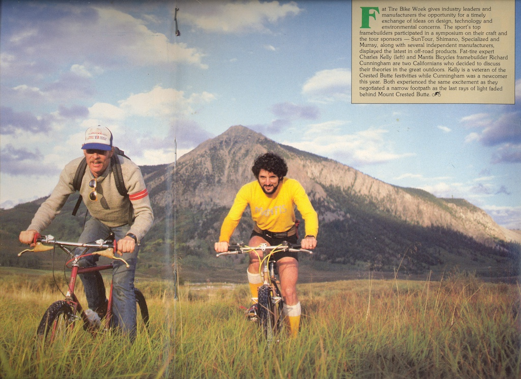 Centerfold photo from January 1984 Bicycle Sport.  Photo is by Dave Epperson.