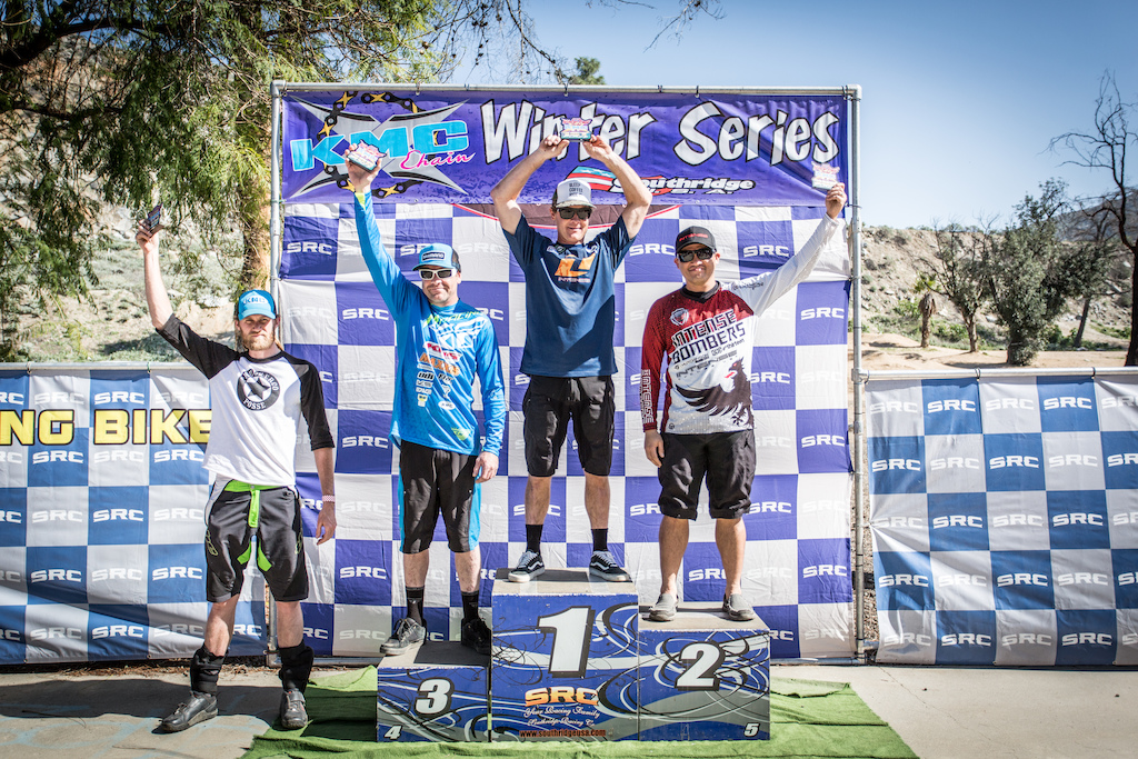 Vet Pro Podium - 1st place Chad Hubbard 02 13.29 2nd place Orven Zaragoza 02 15.09 3rd place Quinton Spaulding 02 16.81 4th place Greg Gibson 02 29.56