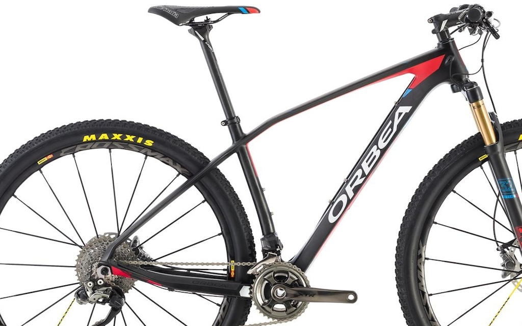 Orbea Alma. The extra angles in the seat stay and top tube are said to give 211 more comfort.