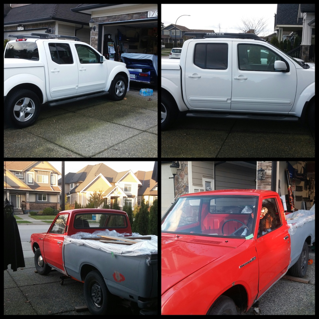 Nissan Frontier and Datsun 620