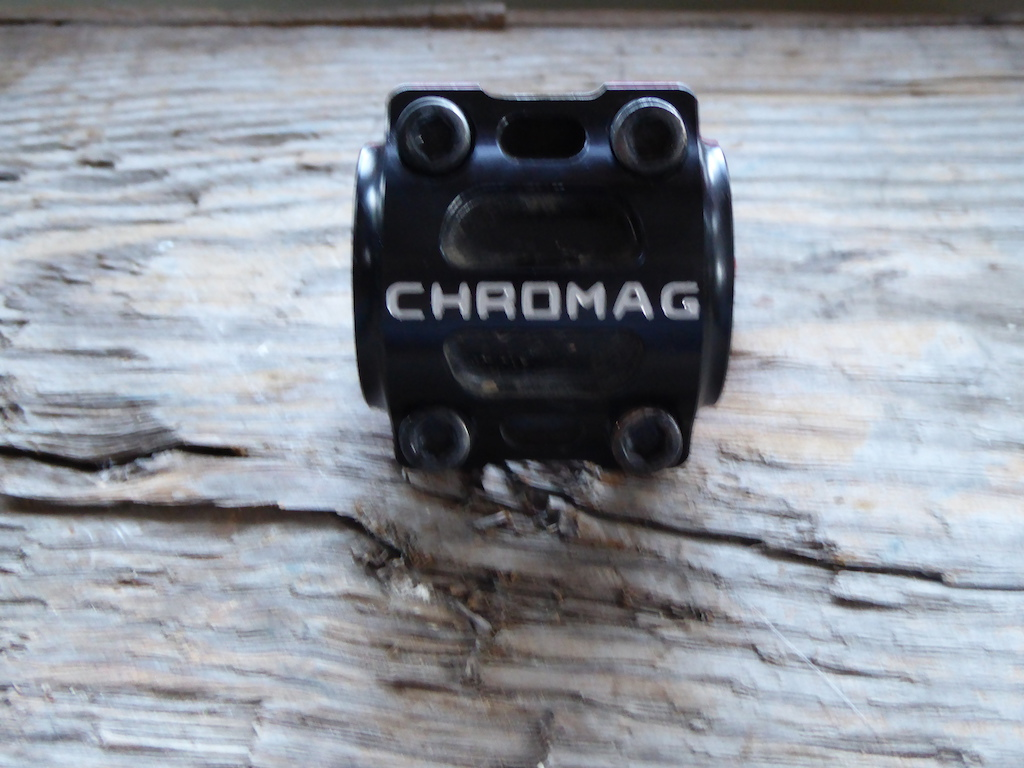 2014 Chromag Director Direct Mount Stem Red