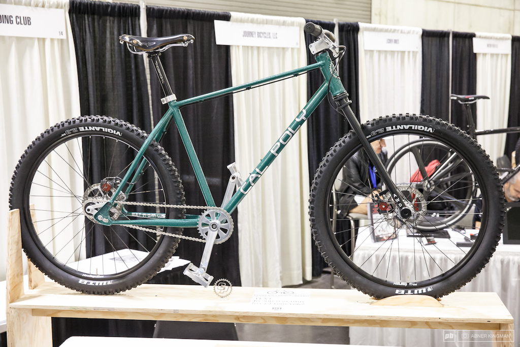 The Cal Poly student project bike.