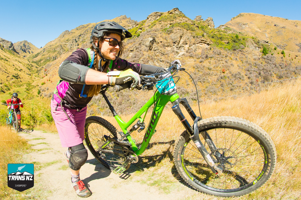 The pinch climbs in skippers canyon were too much for some riders after 15 minutes of racing.