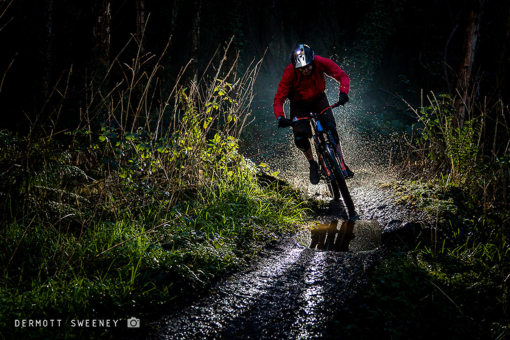 A combination of a new bike, a contre jour photo competition and a trail centre on my doorstep meant I recently hatched a plan to shoot this one of myself.