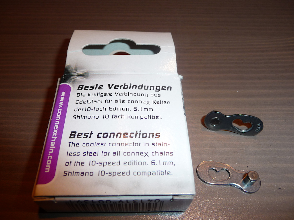 2015 Wippermann ConneX 10-Speed Bicycle Chain Link