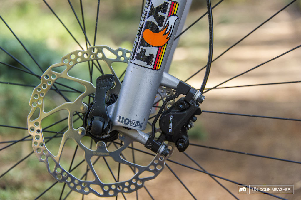 Riding and detail shots of the Orbea Loki