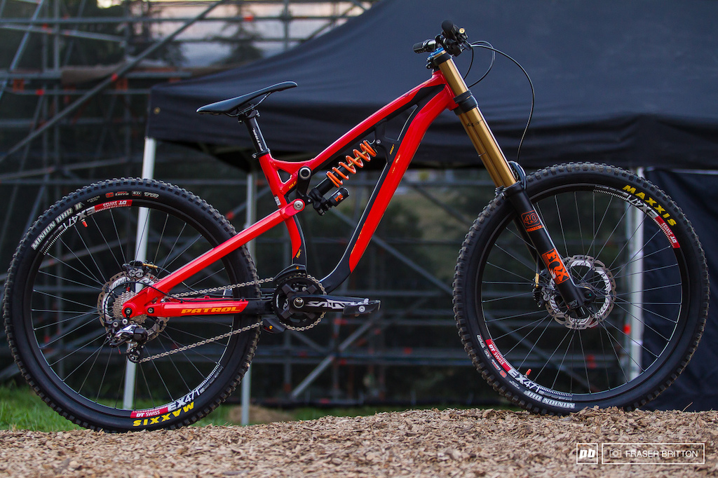 new patrol 871 dh and 671 enduro bikes crankworx rotorua. Black Bedroom Furniture Sets. Home Design Ideas