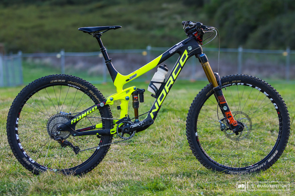 Sam Blenkinsop S Enduro Bike Check Crankworx Rotorua