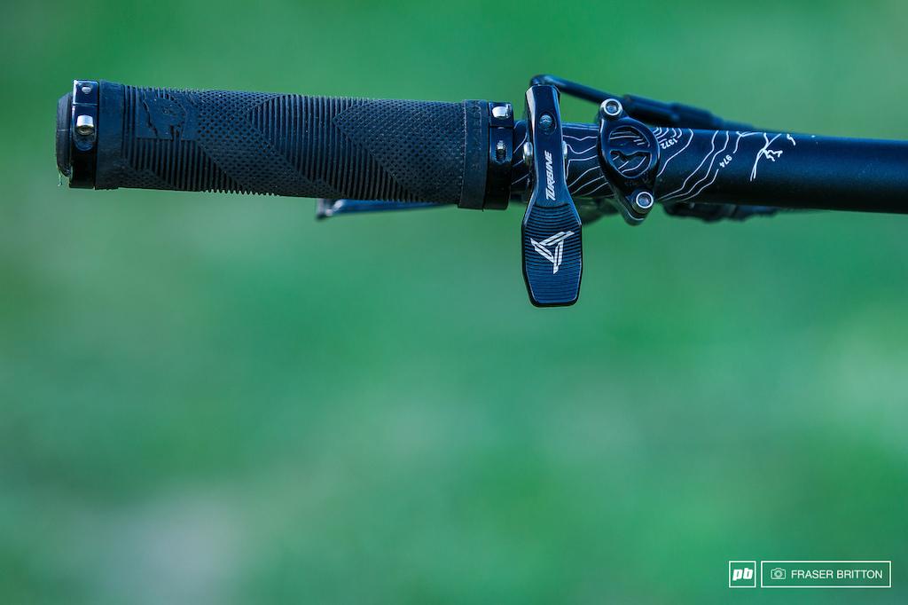Sam Blenkinsop's Enduro Bike Check - Crankworx Rotorua 2016