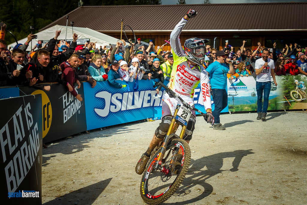 Taking the win at UCI World Cup 2015