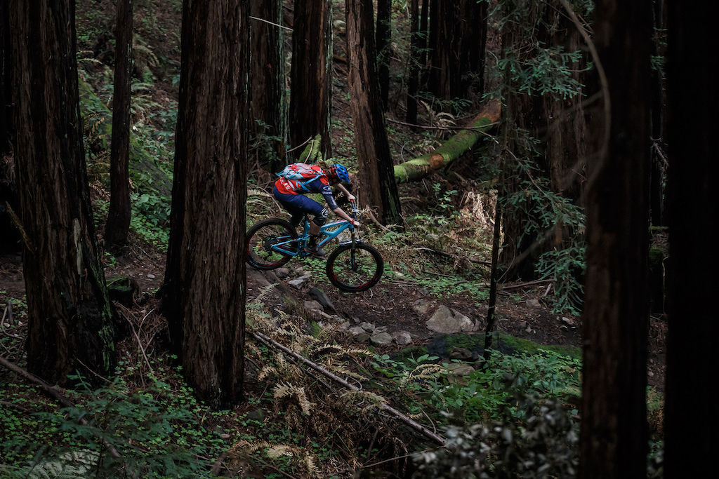 Ibis Cycles Enduro Team at pre-season training camp in Santa Cruz California. Caro Gehrig
