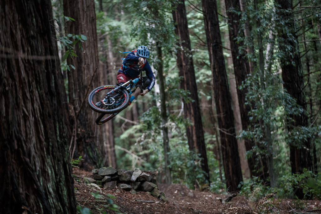 Robin Wallner does not need a big bike anymore to air it out