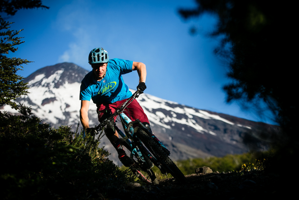 Robin Wallner used the time at Pucon to make sure his bike was running well after the long journey.
