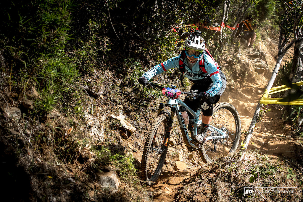 With Casey Brown under the weather and Rene Wildhaber out with a broken foot, Katie Winton is the lone Trek rider this weekend.