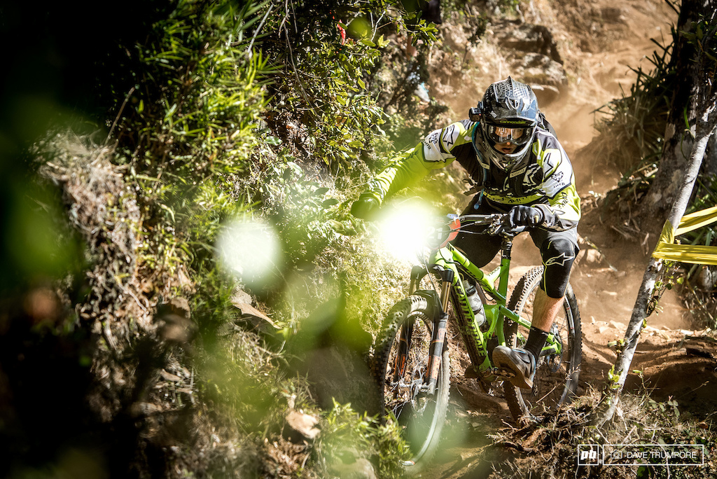 Marco Osbourne is doing the whole EWS this year, and his flat out aggressive style will pleasure for all to watch.