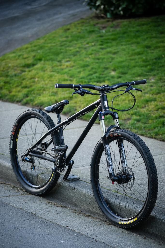 For Sale: Chromag Monk - $1100  Chromag Monk. Size L RockShox Argyle RCT Truvativ Descendant Cranks Chromag Chainring SRAM X0 derailleur SRAM X0 Trail Brakes Hope Pro II Trials hub with 7 speed cassete Maxxis Ikon Tires