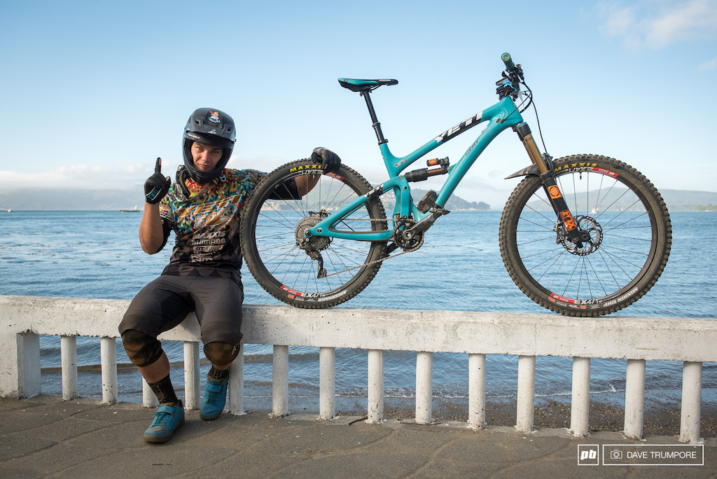 Richie Rude s Yeti SB6c has now won 4 out of the past 5 EWS races most recently here in Corral to kick off 2016.