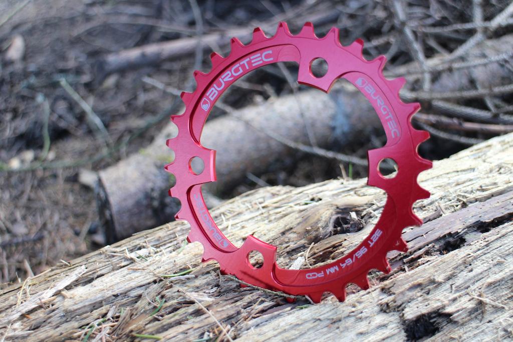 Burgtec thick thin chainring