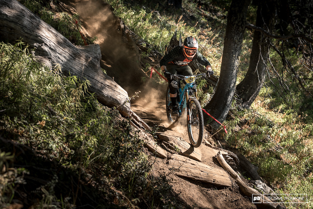 Luke Strobel had a good outing today to finish 25th in conditions that couldn't be any different form his Pacific Northwest home.