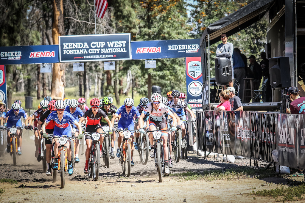 The Women s Pro XC start was exciting. The C3 UCI points rating brought out international competition. In short the C3 races are just a few levels below a World Cup level event. Next weeks race at Bonelli Park in San Dimas is an even higher level race.