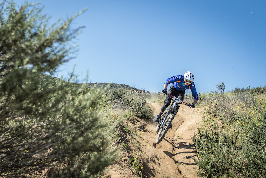 Evan Geankopolis Team Rabobank Marin was the winner for the Pro Men category of the Enduro race Friday.