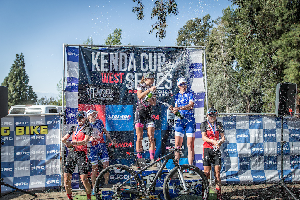 Woman s Pro XC Podium - 1st place Larissa Connors 01 27 51.578 2nd place Georgia Gould 01 30 04.009 3rd place Catharine Pendrel 01 31 16.651 4th place Lea Davison 01 31 56.048 5th place Kate Courtney 01 34 13.410