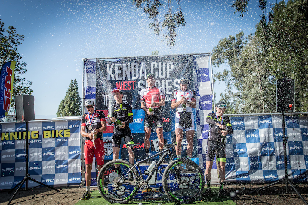 Men s Pro XC Podium - 1st place Rapheal Gagne 01 33 28.730 2nd place Nicola Rohrbach 01 33 38.915 3rd place Derek Zandstra 01 34 12.264 4th place Todd Wells 01 37 25.814 5th place Cameron Jette 01 38 19.784