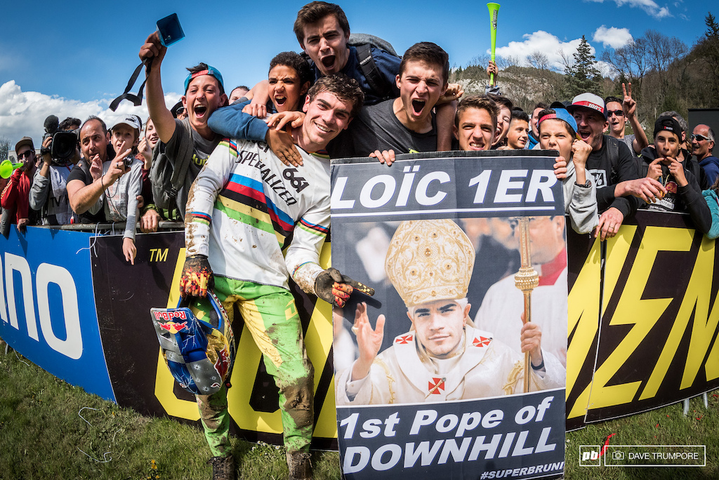 Logic s fans will stand by him no matter what and he was greeted at the finish line by a hero s welcome.