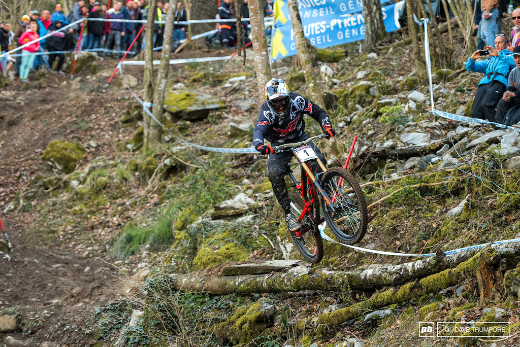 For the third year in a row Aaron Gwin has won t the opening round of the World Cup series and has set the bar that other must now push to meet if they want to contest for the overall.