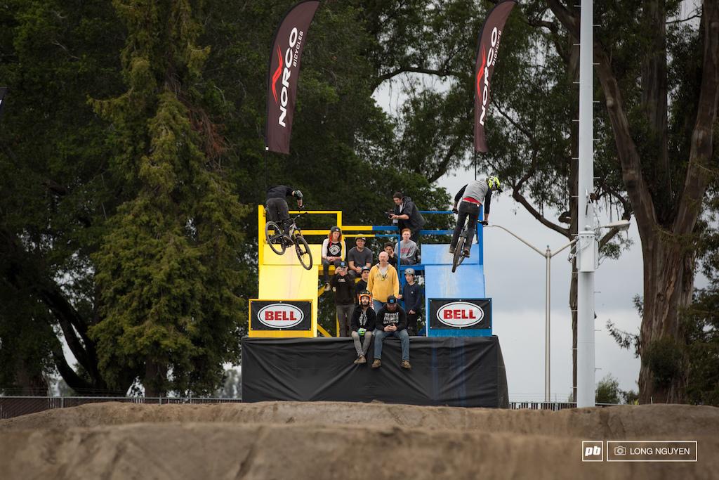 Battle of the BMX legends. Ryan Nyquist vs Josh Hult.