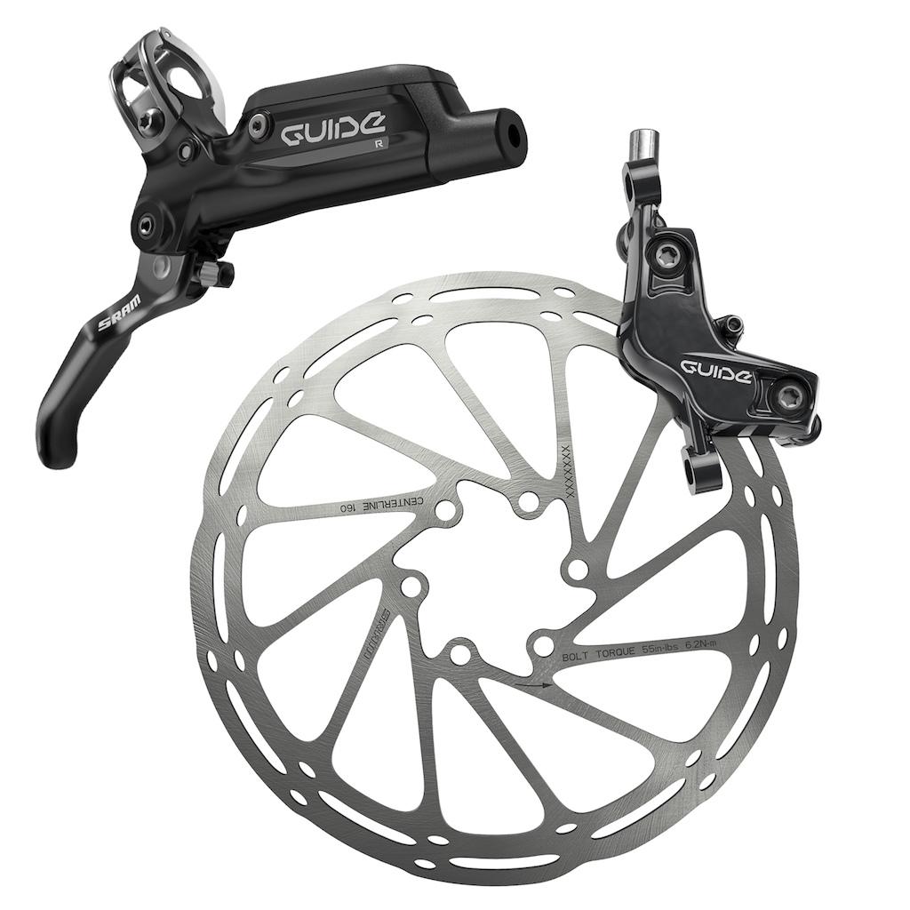 SRAM Guide R brake system
