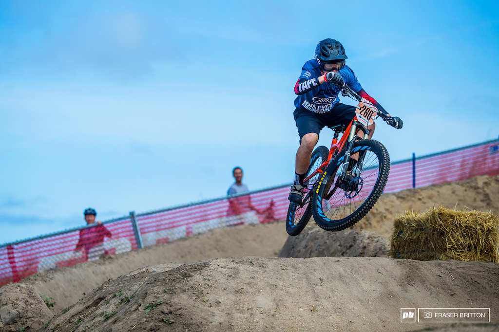 Dillon Santos is a Salinas local and rode his way to a 5th place podium finish.