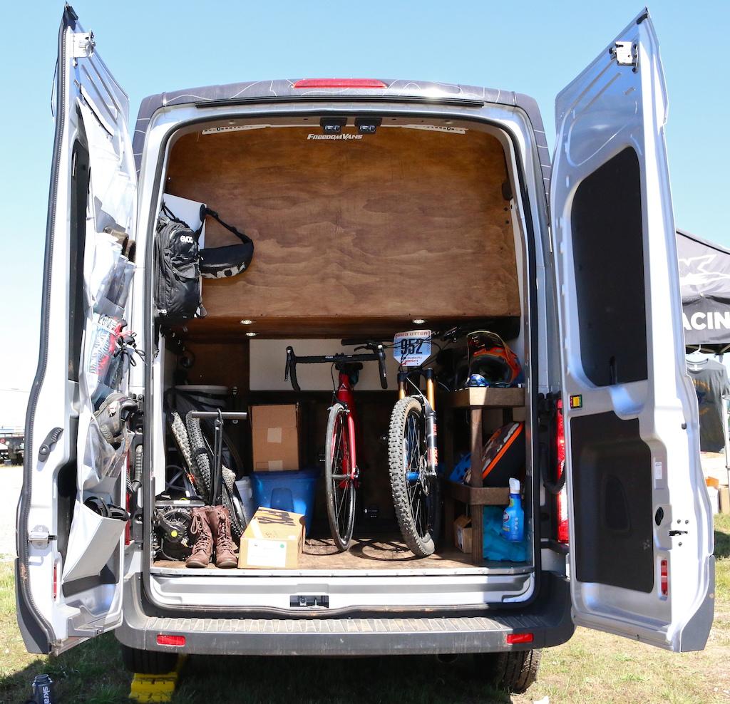 Lauren Gregg S Custom Ford Transit Van Pinkbike