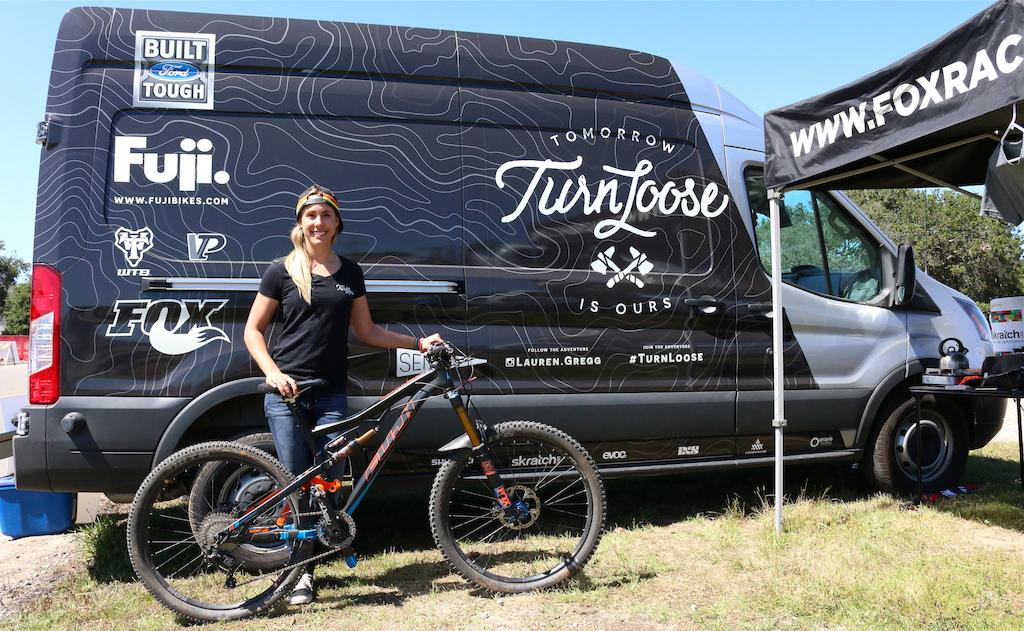 Lauren Gregg s Ford Transit camper van