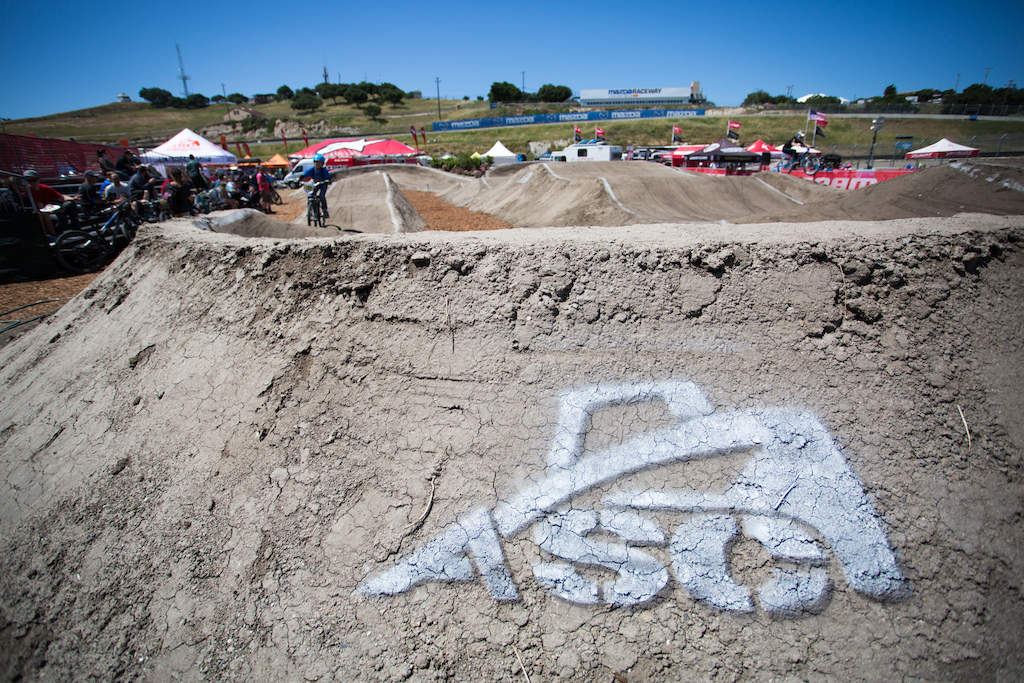 ASC Action Sports Construction built the pump track and they did an amazing job.