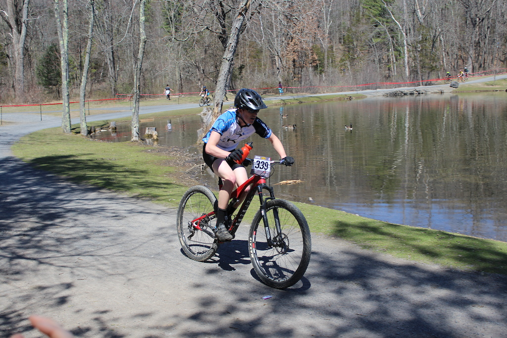 R-Cubed NICA Composite team racing at New York NICA first race in 2016 at Lippman Park