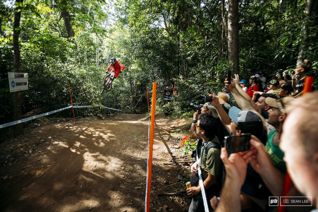 Thousands of people fought their way through the jungle to watch the best riders in the world throw down.
