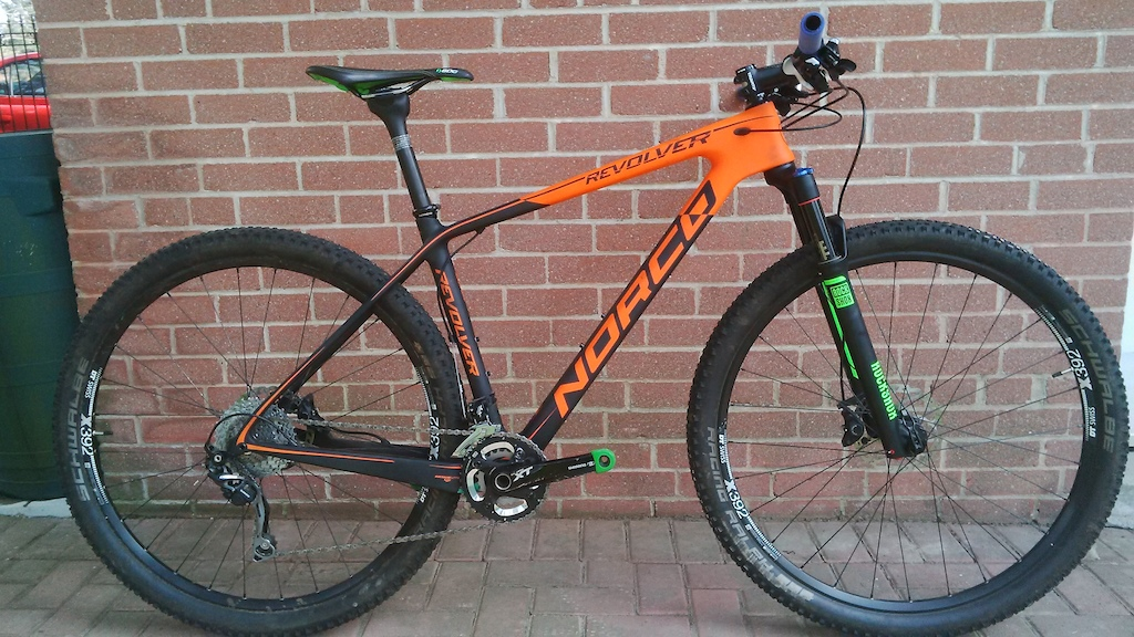 2015 Norco Revolver 9.1 Large (with orange frame)