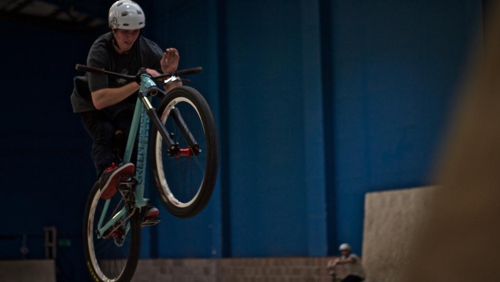 Bar the step up! Pic: Matt Aldridge/Ride More Studios.